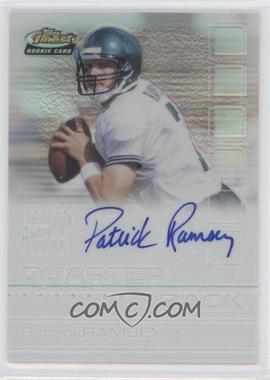 2002 Topps Finest Refractor #119 - Patrick Ramsey /175