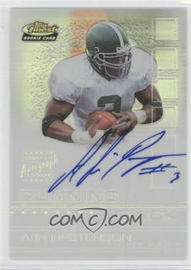 2002 Topps Finest Refractor #135 - Adrian Peterson /175