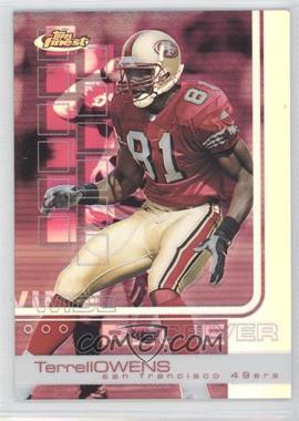 2002 Topps Finest Refractor #62 - Terrell Owens /250