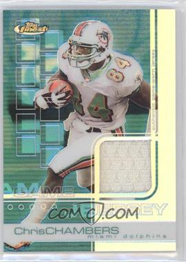 2002 Topps Finest Refractor #67 - Chris Chambers /250