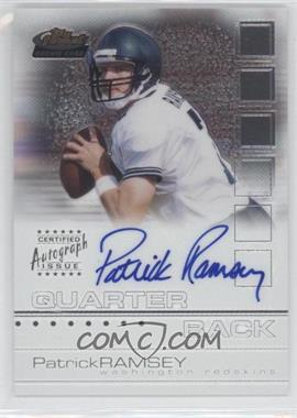 2002 Topps Finest #119 - Patrick Ramsey /1200
