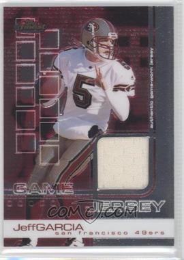 2002 Topps Finest #64 - Jeff Garcia /999