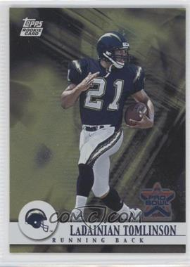 2002 Topps Pro Bowl Card Show #17 - LaDainian Tomlinson