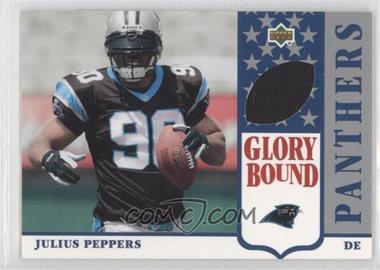 2002 UD Authentics - Glory Bound Jerseys #GBJ-JP - Julius Peppers