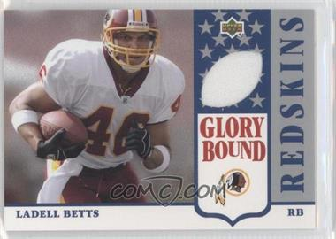 2002 UD Authentics - Glory Bound Jerseys #GBJ-LB - Ladell Betts