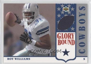 2002 UD Authentics - Glory Bound Jerseys #GBJ-RW - Roy Williams