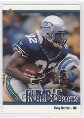 2002 UD Authentics - Rumble Backs #RB-9 - Ricky Watters