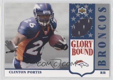 2002 UD Authentics [???] #GBJ-CP - Clinton Portis