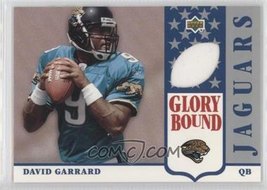 2002 UD Authentics [???] #GBJ-DG - David Garrard