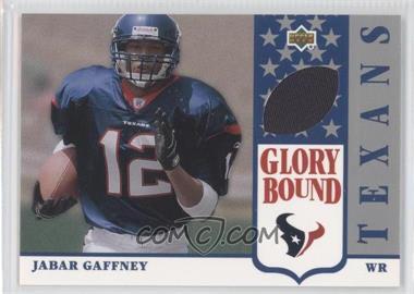2002 UD Authentics [???] #GBJ-JG - Jabar Gaffney