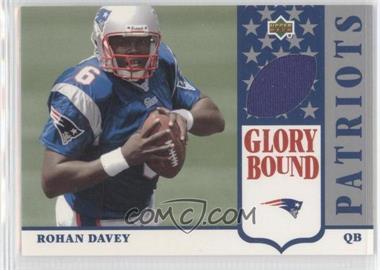 2002 UD Authentics [???] #GBJ-RD - Rohan Davey