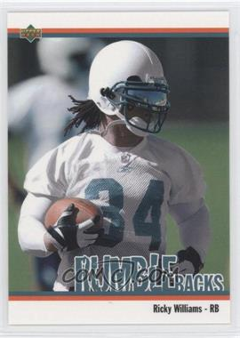 2002 UD Authentics [???] #RB-10 - Ricky Williams