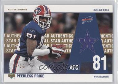 2002 UD Authentics All-Star Authentics Gold #AA-PP - Peerless Price /25