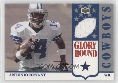 2002 UD Authentics Glory Bound Jerseys #GBJ-AB - Antonio Bryant