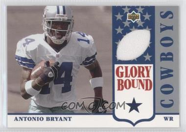 2002 UD Authentics Glory Bound Jerseys #GBJ-AB - Antonio Bryant