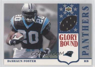 2002 UD Authentics Glory Bound Jerseys #GBJ-DF - DeShaun Foster