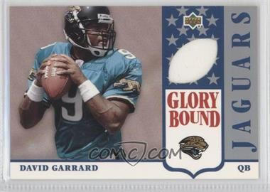 2002 UD Authentics Glory Bound Jerseys #GBJ-DG - David Garrard