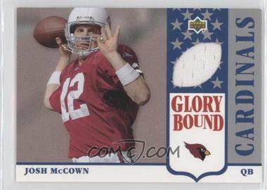 2002 UD Authentics Glory Bound Jerseys #GBJ-JM - Josh McCown