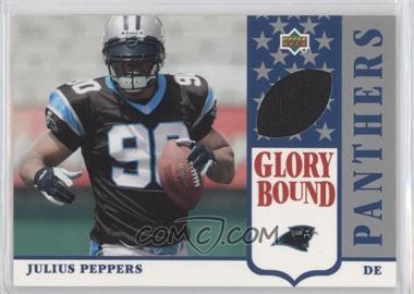 2002 UD Authentics Glory Bound Jerseys #GBJ-JP - Julius Peppers