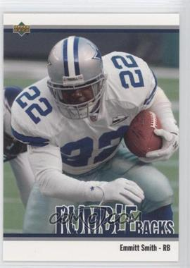 2002 UD Authentics Rumble Backs #RB-1 - Emmitt Smith