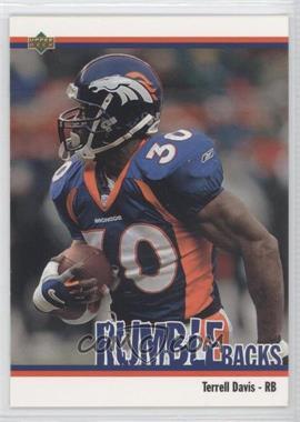 2002 UD Authentics Rumble Backs #RB-4 - Terrell Davis
