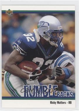 2002 UD Authentics Rumble Backs #RB-9 - Ricky Watters