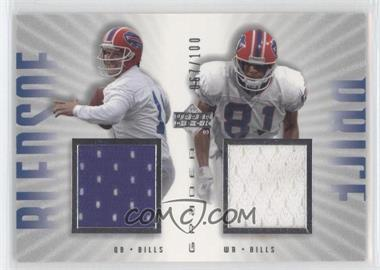 2002 Upper Deck Graded [???] #TB-100 - Drew Bledsoe, Peerless Price /100