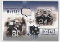 Jerry Rice, Charles Woodson