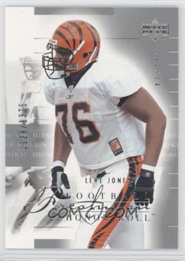 2002 Upper Deck Honor Roll #121 - Levi Jones /1375