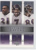 Jamal Lewis, Chris Redman, Travis Taylor