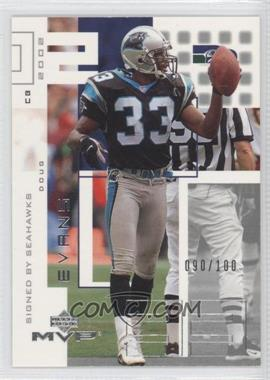 2002 Upper Deck MVP [???] #211 - Doug Evans /100