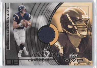 2002 Upper Deck MVP Souvenirs #SS-DB - Drew Brees