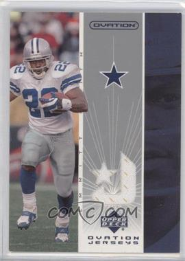 2002 Upper Deck Ovation Jerseys #OJ-ES - Emmitt Smith