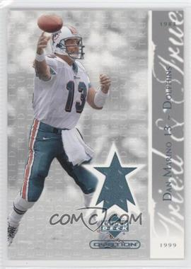 2002 Upper Deck Ovation Tried & True Jerseys #TT-DM - Dan Marino