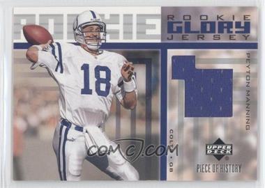 2002 Upper Deck Piece Of History - [???] #RGJ-PM - Peyton Manning