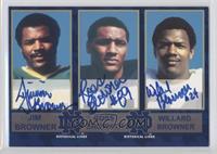 Jim Browner, Ross Browner, Willard Browner /150