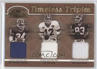 Thurman Thomas, Jim Kelly, Andre Reed /150
