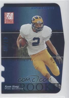 2003 Donruss Elite - [Base] - Aspirations #152 - Ryan Hoag /93