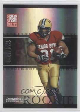 2003 Donruss Elite #117 - Domanick Davis /500