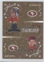 Johnnie Morton, Jeff Garcia, Joe Montana /600