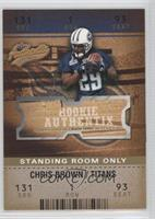 Chris Brown /25