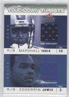 Marshall Faulk, Edgerrin James /200