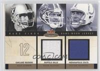 Rich Gannon, Peyton Manning, Drew Bledsoe /250