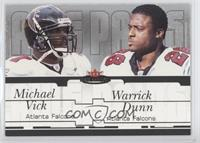 Warrick Dunn, Michael Vick /250