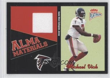 2003 Fleer Platinum - Alma Materials #AM-MV - Michael Vick
