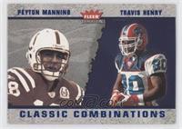 Peyton Manning, Travis Henry /1500