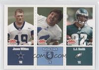 L.J. Smith, Dallas Clark, Jason Witten