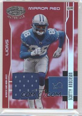 2003 Leaf Certified Materials [???] #46 - Scotty Anderson /150