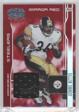 2003 Leaf Certified Materials Mirror Red Materials [Memorabilia] #103 - Jerome Bettis /150
