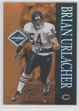 2003 Leaf Limited Bronze Spotlight #15 - Brian Urlacher /150